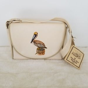 NWT Vintage The Florida Keys Handbag Hand Painted